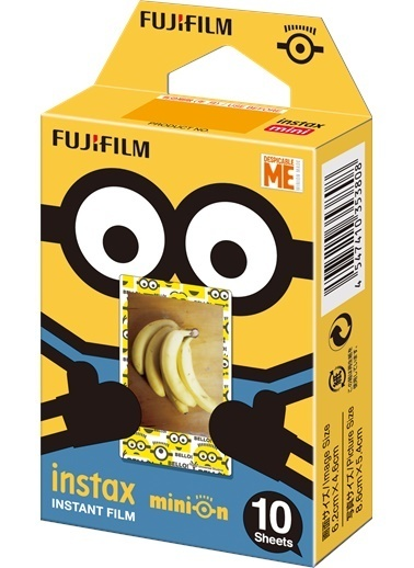 Instax Minion Film (Movie Versiyon)-Fujifilm
